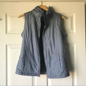 Columbia Grey Fleece Vest- Size M